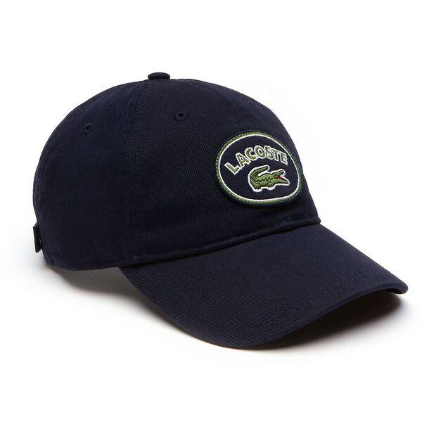 MEN'S BADGE LOGO CAP, NAVY BLUE, hi-res