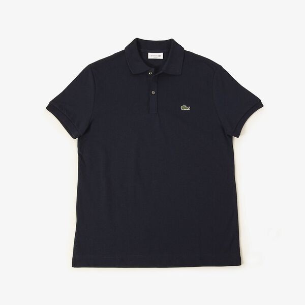 Men's Innovation Slim Fit Polo, NAVY BLUE, hi-res