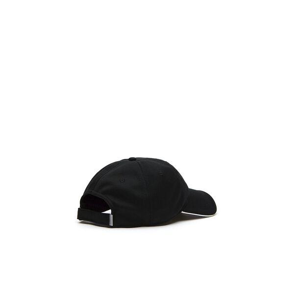 UNISEX TONAL CROC CAP, BLACK/WHITE/BLACK, hi-res