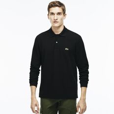 MEN'S CLASSIC FIT LONG-SLEEVE POLO