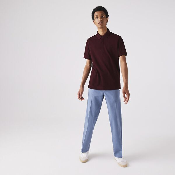 Men's Paris Stretch Polo, VINE CHINE, hi-res