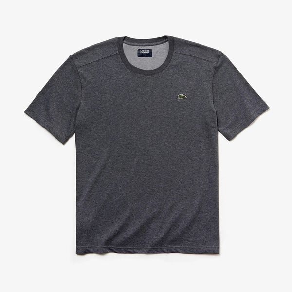 Men's Basic Crew Neck Sport Tee, PITCH, hi-res