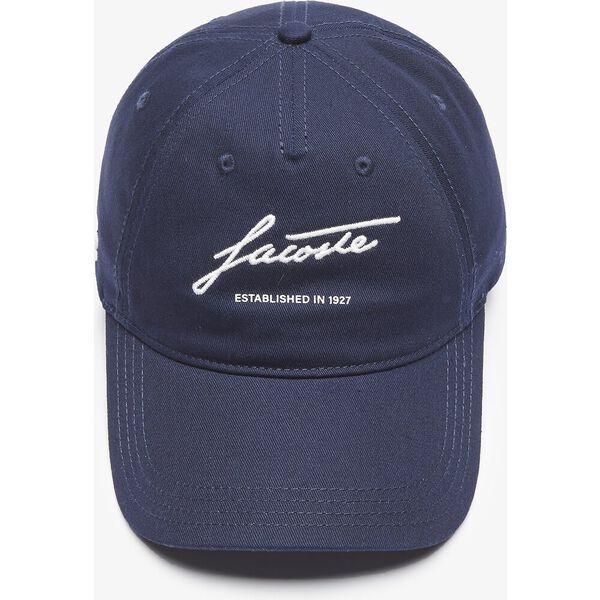 Men's Signature Cotton Cap, NAVY BLUE, hi-res