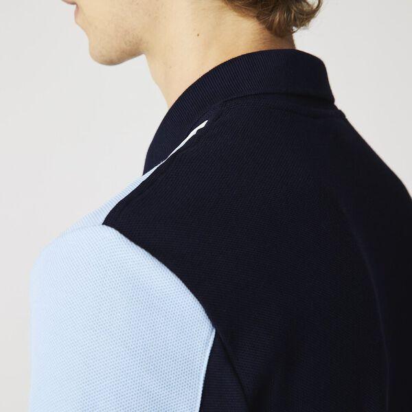Men's Heritage Colorblock Polo, NAVY BLUE/CREEK, hi-res