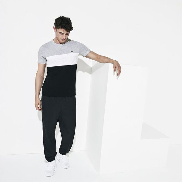 Men's Lifestyle Light Knit Pocket Tee, SILVER, hi-res
