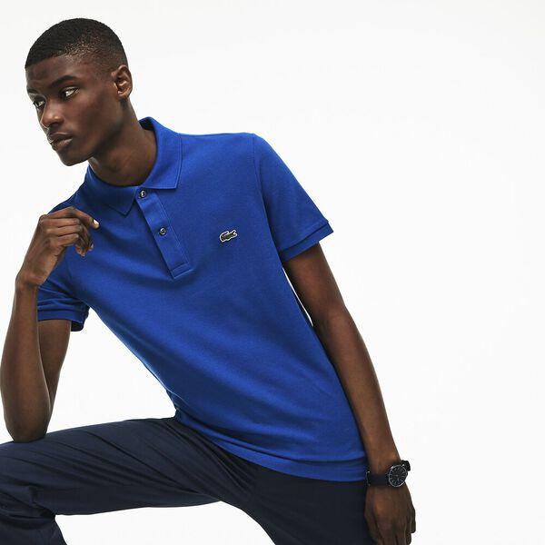 Men's Slim Fit Polo, ELECTRIC, hi-res