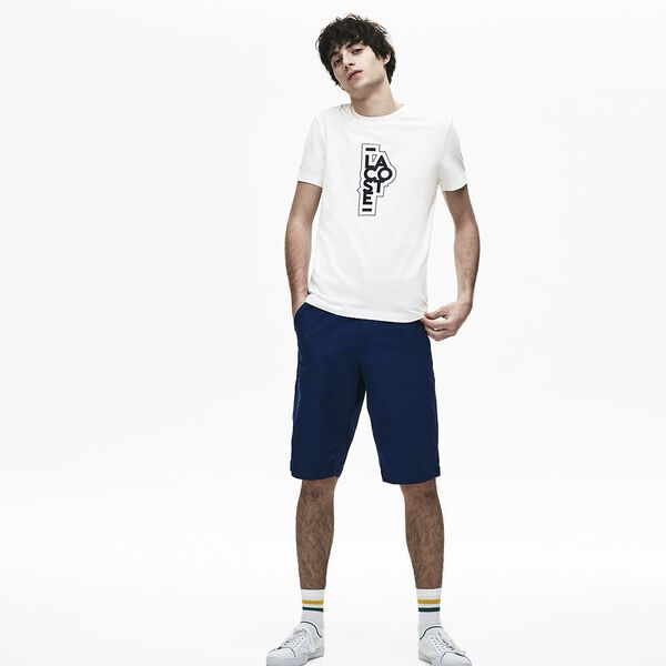 MEN'S SLIM PLAY ON LOGO TEE