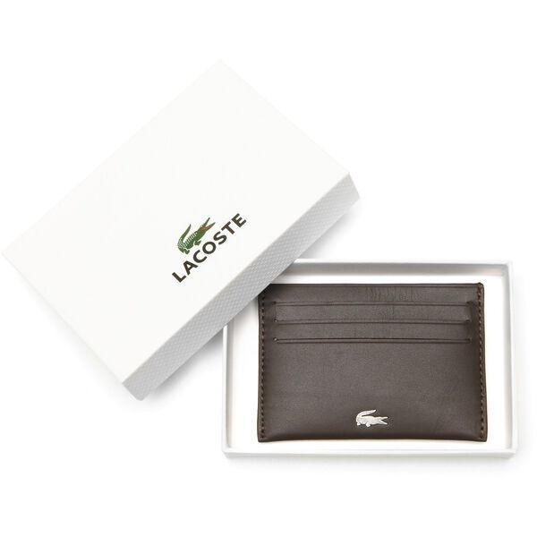 Men's Fg Credit Card Holder, DARK BROWN, hi-res