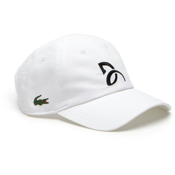 Novak Djokovic Microfibre Croc Cap, WHITE, hi-res
