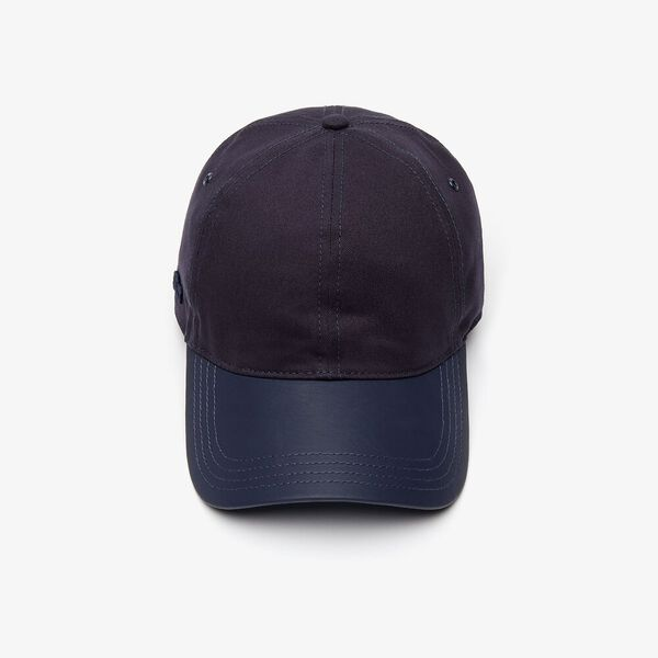 Men's Bimaterial Cap, DARK NAVY BLUE/LEGION BLU, hi-res