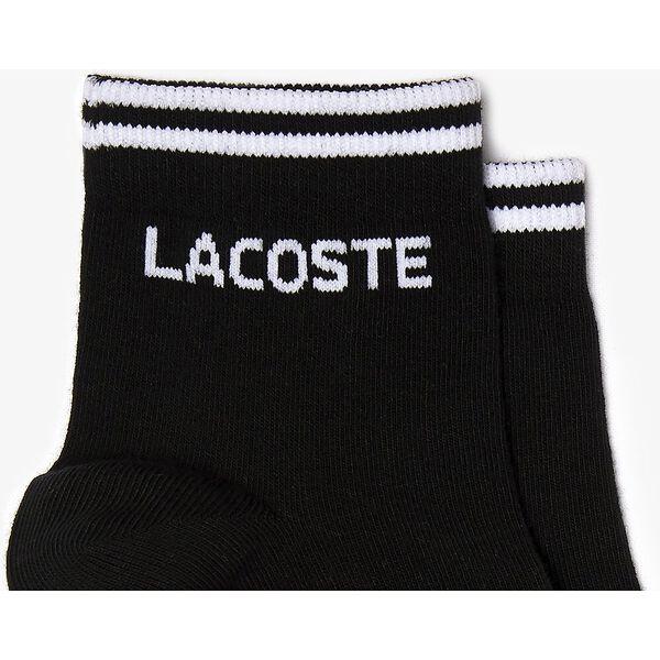 Men's Two-pack of  Tennis low-cut socks, NOIR/BLANC, hi-res