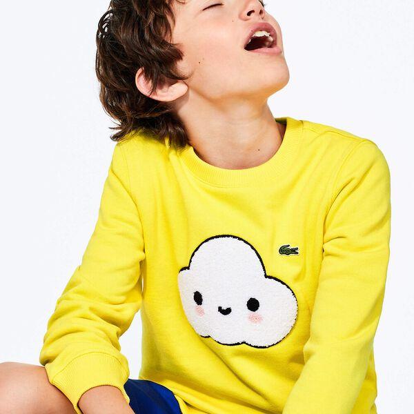 Boys' Lacoste x FriendsWithYou Design Sweatshirt