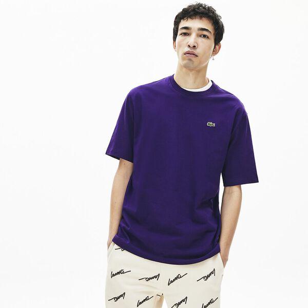 Men's Lacoste LIVE Double Collar Cotton T-shirt