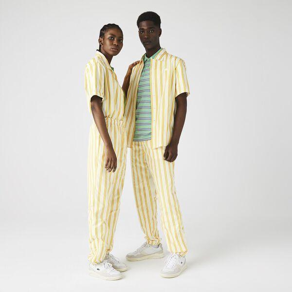 Unisex LIVE Striped Tracksuit Pants