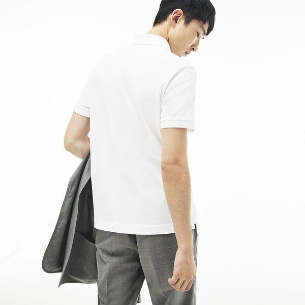 Men's Paris Regular Fit Stretch Polo, WHITE, hi-res