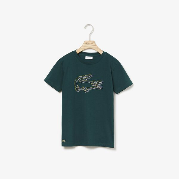 Boy's Athleisure Big Croc Tee, BEECHE, hi-res