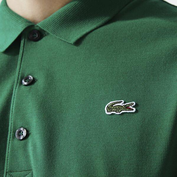 Men's SPORT Tennis regular fit Polo Shirt in ultra-lightweight knit, YUCCA, hi-res