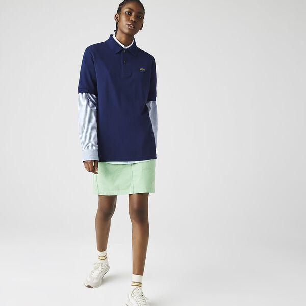 Unisex LIVE Loose Fit Cotton Piqué Polo, SCILLE, hi-res