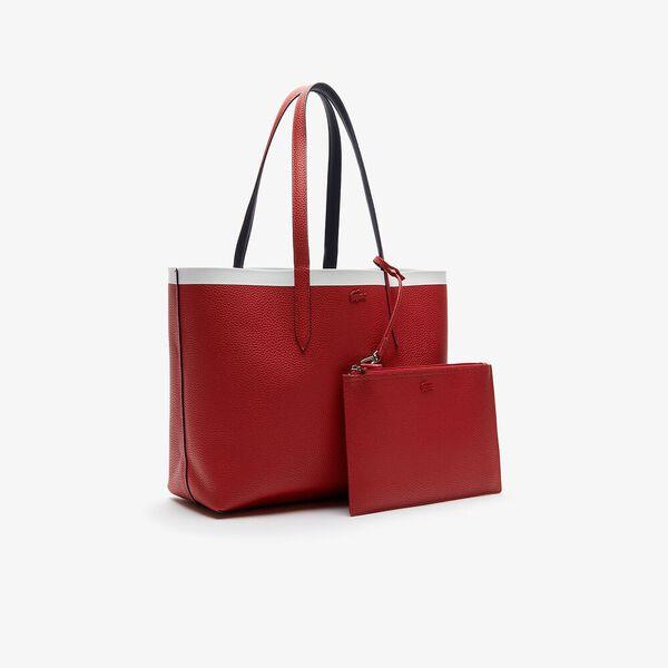 Women's Anna Shopping Bag, PEACOAT POMPEIAN RED MARS, hi-res