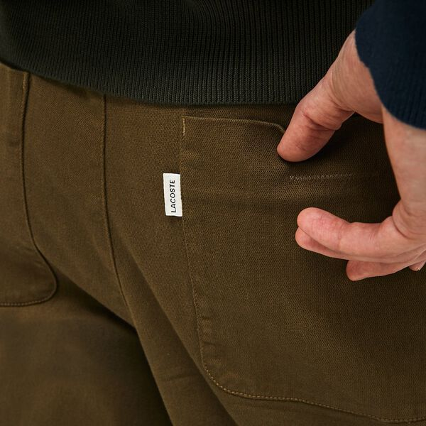 MEN'S BROKEN TWILL CHINO PANTS, SOLDIER, hi-res