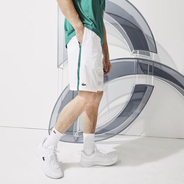 Men's SPORT x Novak Djokovic Breathable Stretch Shorts, WHITE/ALOES, hi-res