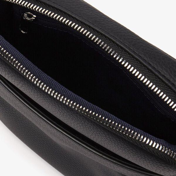 Men's Gael Small Flat Crossover Bag, BLACK, hi-res