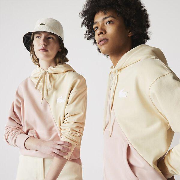 Unisex LIVE Hooded Bicolor Fleece Sweatshirt