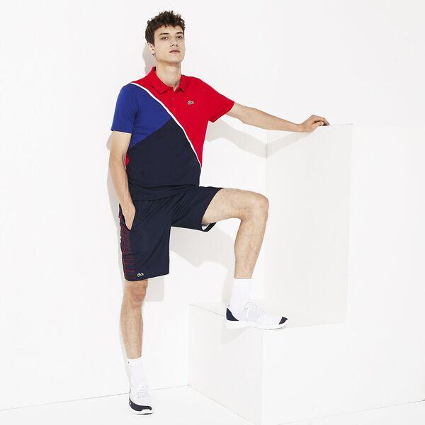 Men's Tennis Light Colour BLock Polo