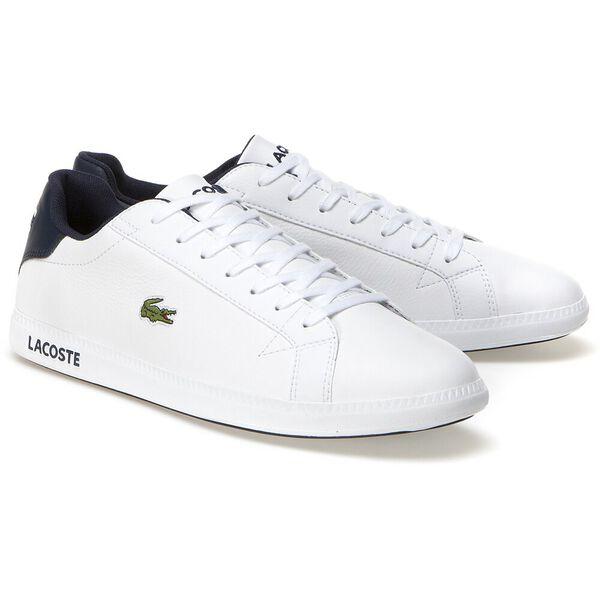 Mens' Graduate Lcr3 Spm Sneaker, WHITE/DARK BLUE, hi-res