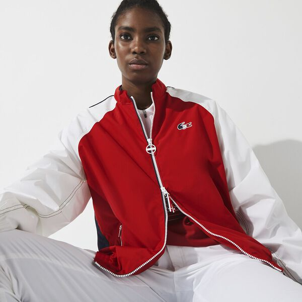 Women's SPORT French Sporting Spirit Water-Resistant Zip Jacket