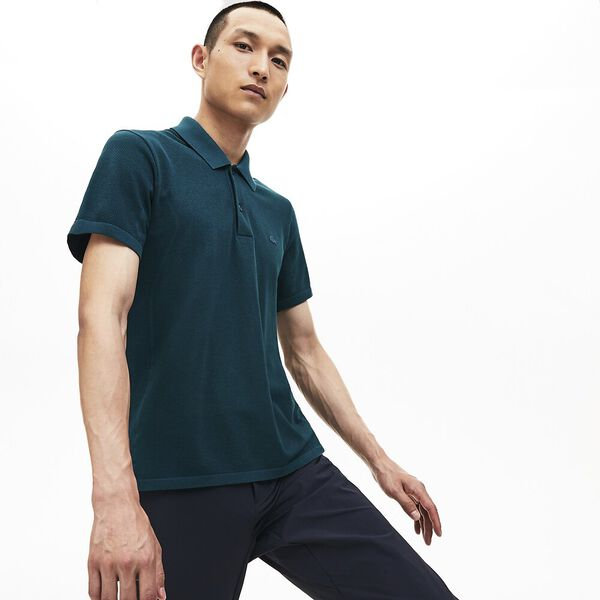 Men's Seamless Side Panel Slim Fit Polo
