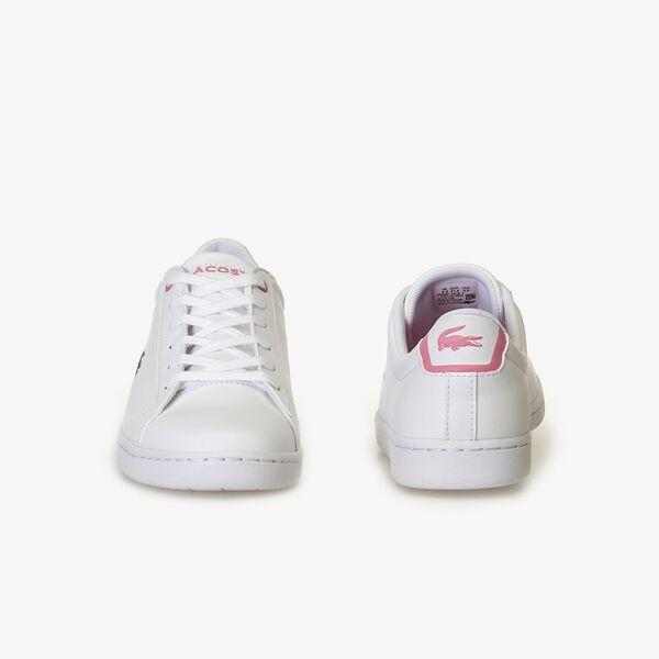 Kids' Carnaby Evo Bl 2 Sneaker, WHITE/PINK, hi-res