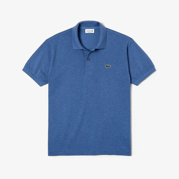 Men's 2 Ply Classic Fit Polo, ALBY CHINE, hi-res