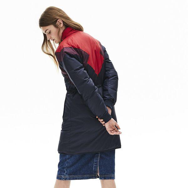 Women's Sporty Reversible Jacket, NAVY BLUE/ALIZARIN-EGGPLANT, hi-res