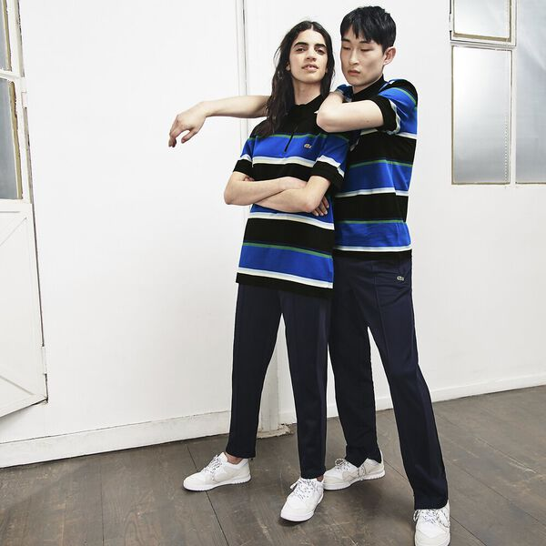 UNISEX LACOSTE LIVE X OPENING CEREMONY REGULAR FIT COLOURBLOCK POLO