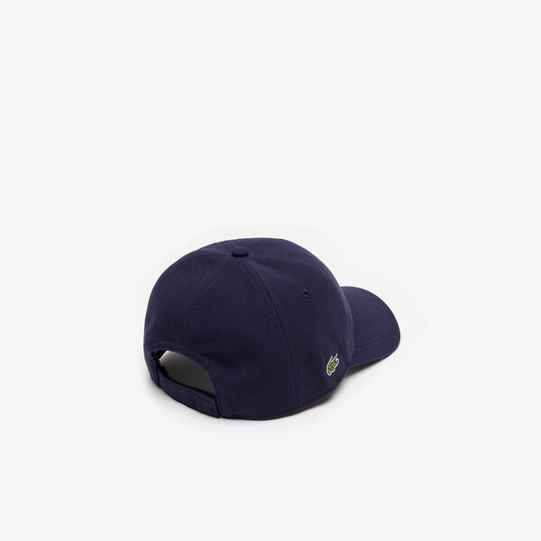 PIQUE CAP, NAVY BLUE, hi-res