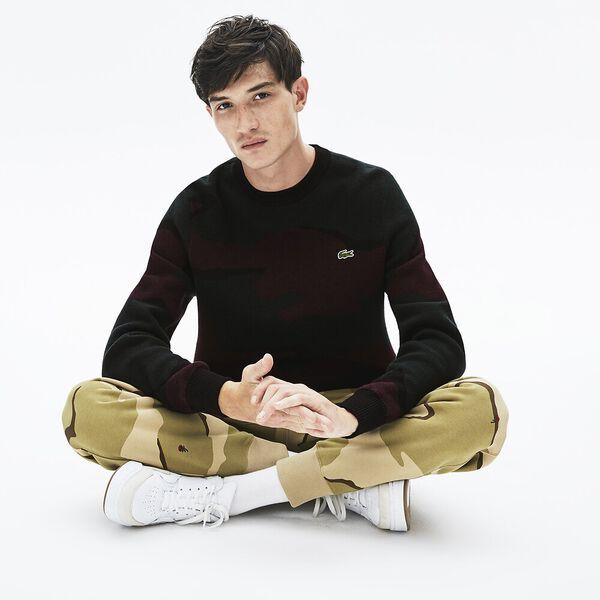 Men's L!ve Camo Cotton Knit