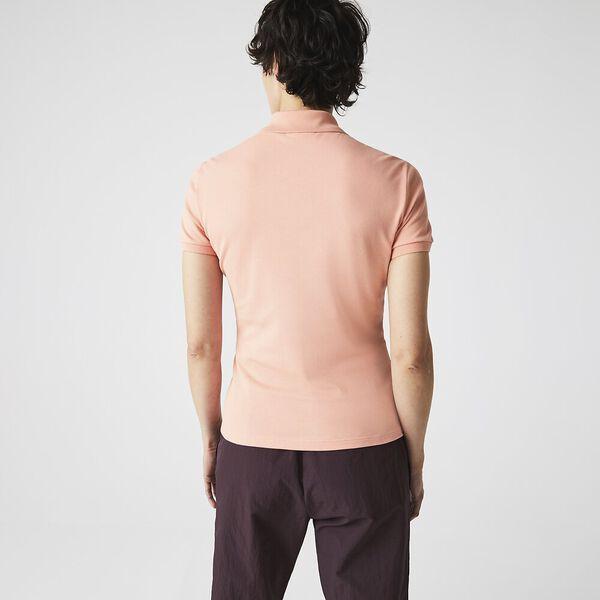 Women's Stretch Cotton Shirt, ELF PINK, hi-res