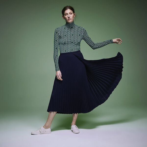 Women's Fashion Show Iconics Pleated Skirt