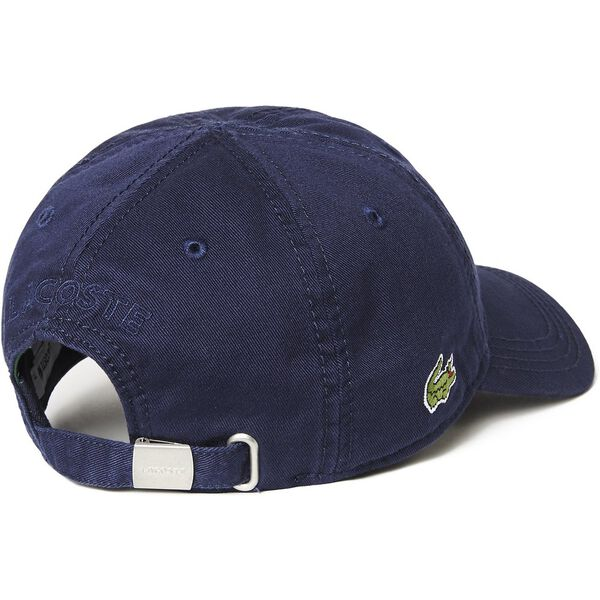Men's Basic Side Croc Cap, NAVY BLUE, hi-res