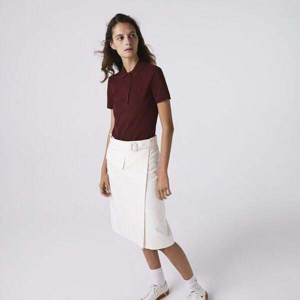 Women's Lacoste Stretch Cotton Piqué Polo Shirt