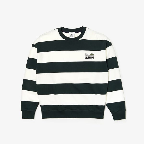 Unisex L!Ive Signature Sweatshirt, FLOUR/SINOPLE, hi-res
