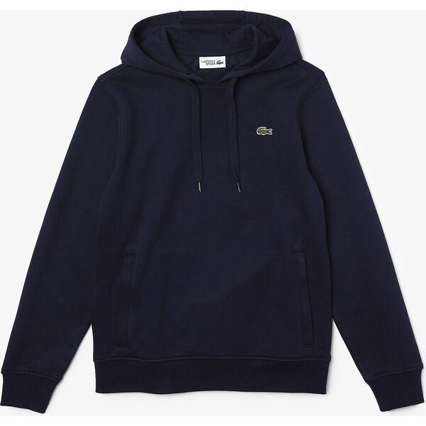 Men's SPORT Fleece Cotton Blend Hoody Sweatshirt, NAVY BLUE/NAVY BLUE, hi-res
