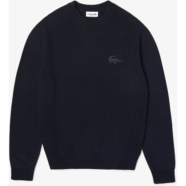 Men's Crew Neck Cotton And Wool Blend Sweater, ABYSM, hi-res