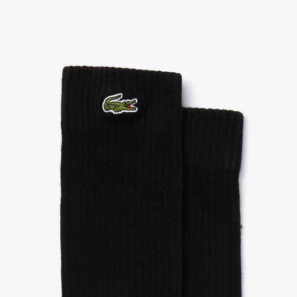 Logo Crew Sock, BLACK, hi-res