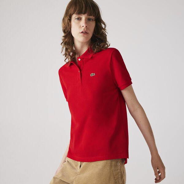 Women's Soft Cotton Shirt, RED, hi-res