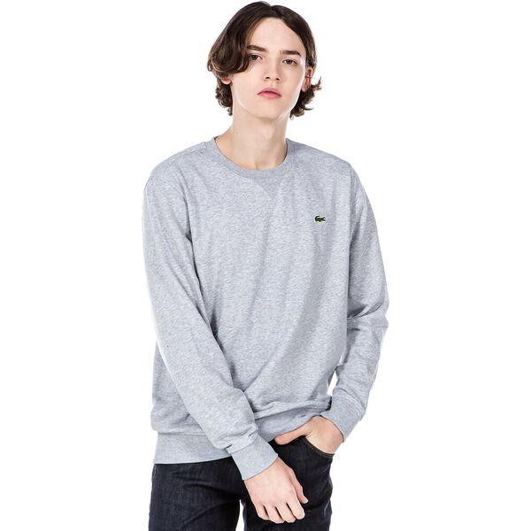 Men's SPORT Fleece Crew neck Sweatshirt, ARGENT CHINE, hi-res