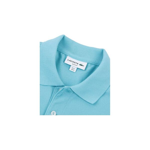 Men's Cotton Piqué Slim Fit Polo, CICER, hi-res