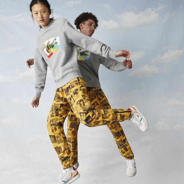 Unisex Lacoste LIVE x Polaroid Fleece Sweatshirt