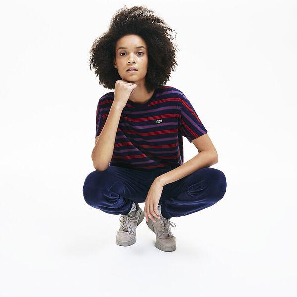 Women's Clean Stripes Mash Up Tee